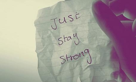 鼓励自己坚强的句子